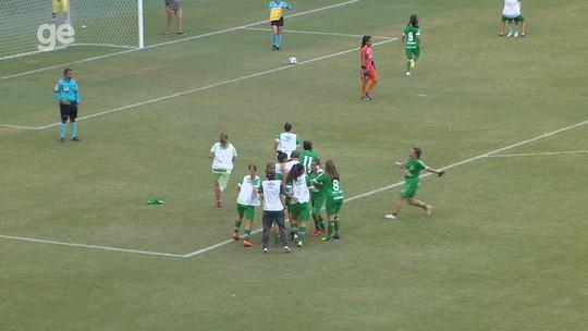 Técnico celebra vaga nas quartas e prevê duelo difícil com o Palmeiras no Brasileiro feminino - Série A2