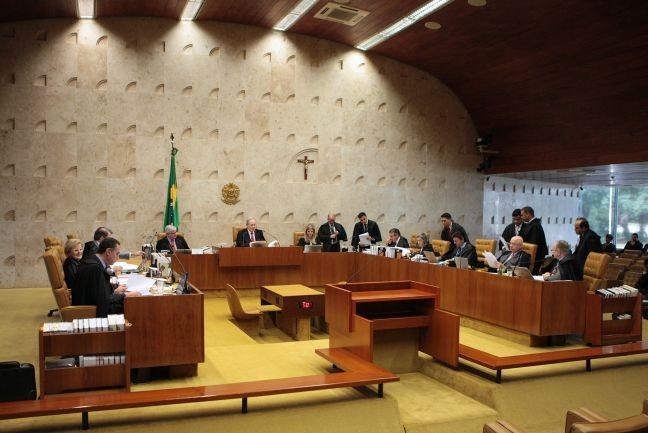Sessão plenária extraordinária do STF, 18/12/2015 (Foto: Rosinei Coutinho / SCO / STF)