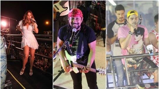 Ivete Sangalo, Bell Marques e Gabriel Diniz encerram o Fortal