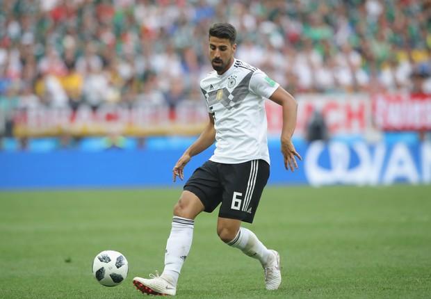 Sami Khedira é filho de pai tunisiano. O meia é um dos jogadores de origem estrangeira que disputam a Copa pela Alemanha. (Foto: Alexander Hassenstein/Getty Images)