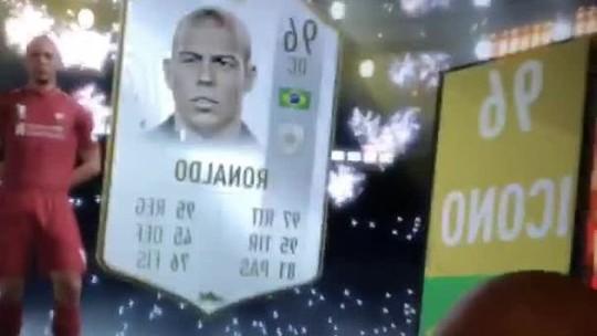 Felipe Melo enlouquece ao tirar carta de Ronaldo Fenômeno no FIFA 19; assista ao vídeo