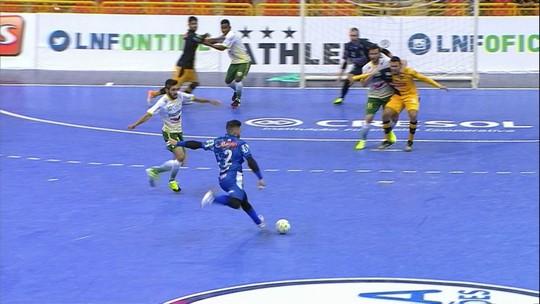 Em jogo morno, Sorocaba e Marechal Rondon empatam na estreia da LNF