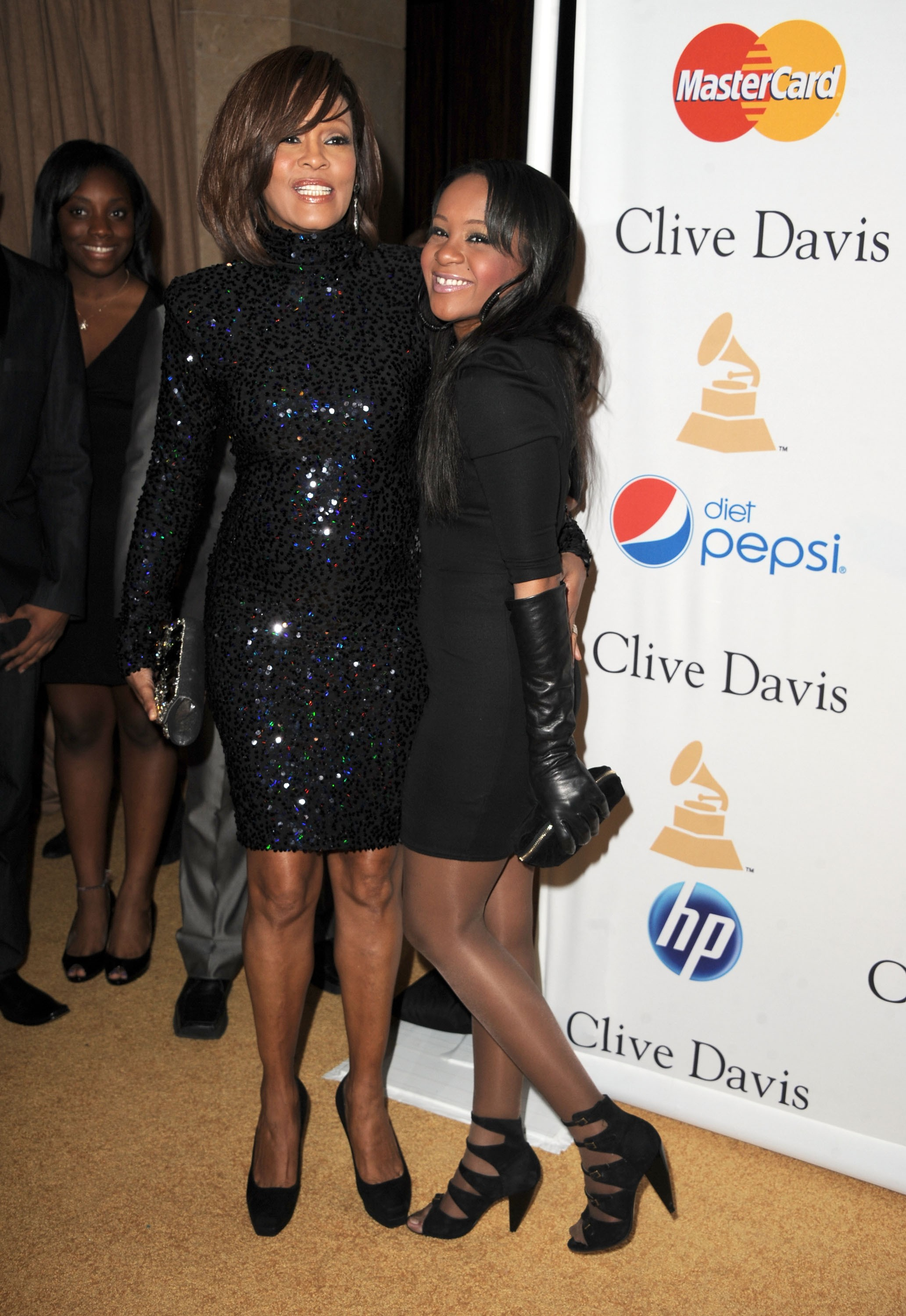 Whtiney Houstone  Bobbi Kristina Brown (Foto: Getty Images)