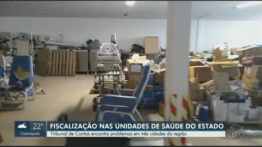 TCE-SP encontra problemas na área da saúde em Holambra, Monte Alegre do Sul e Paulínia
