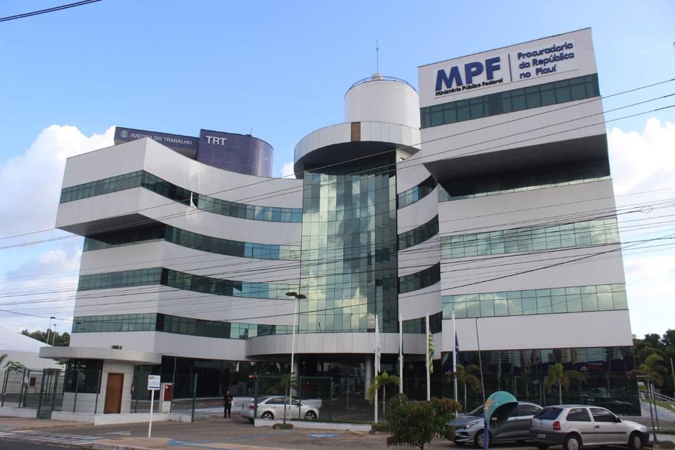 Ministério Público Federal do Piauí — Foto: Andrê Nascimento/ G1 PI