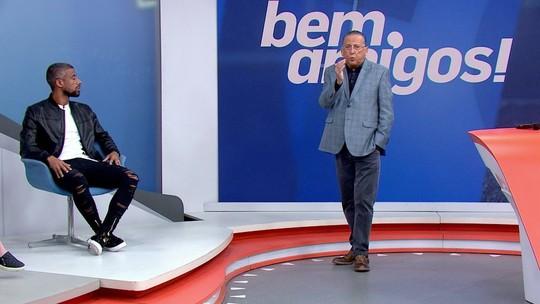 """Galvão lamenta agressão no Gre-Nal: """"Imagina o trauma desse menino?"""""""