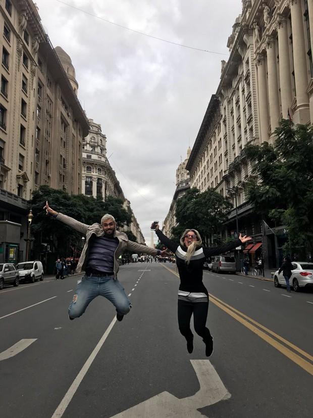 João Vivas e Vanessa Mesquita (Foto: Arquivo Pessoal)