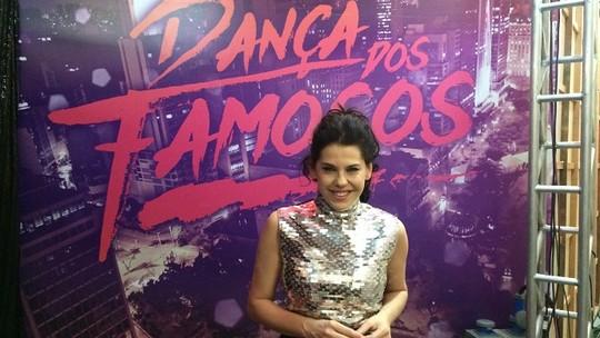 Bárbara Paz relembra momentos como participante do 'Dança dos Famosos'