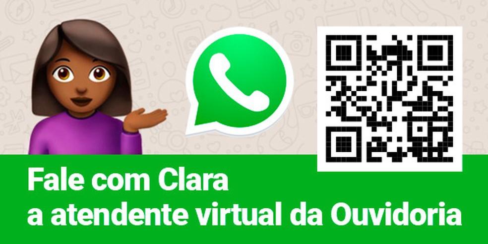 TRE-BA lança atendente virtual, 'Clara', pelo whatsapp para esclarecer dúvidas do eleitor — Foto: Divulgação / TRE-BA