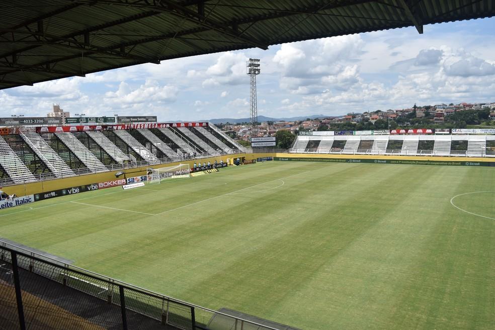 Estádio Nabi Abi Chedid será o palco do duelo deste domingo — Foto: Filipe Rodrigues/ GloboEsporte.com