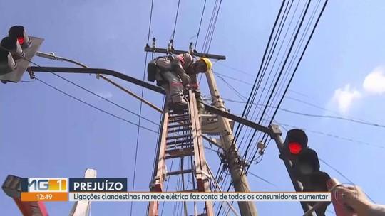 """Cemig faz operação de combate aos """"gatos"""" na rede de energia"""