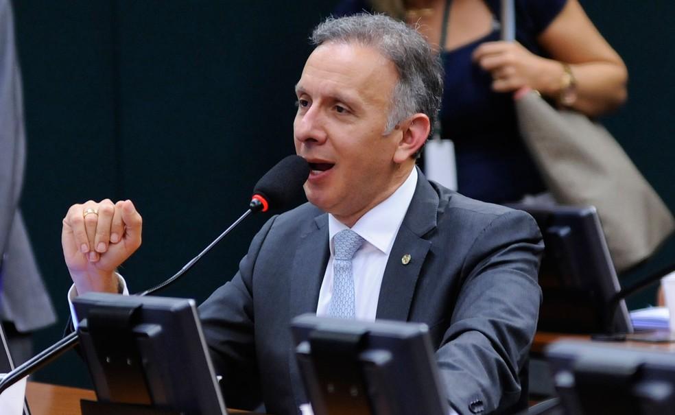 O deputado Aguinaldo Ribeiro teve mandato renovado nas urnas — Foto: Bernardo Junior / Câmara dos Deputados