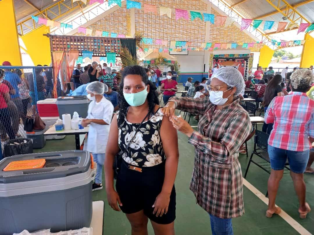 'Arraial da Vacinação' é realizado em Presidente Sarney e Barão de Grajaú