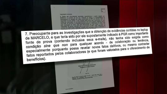 PF pede senha de laptop de Marcelo Odebrecht e, diante de negativa, critica o MPF