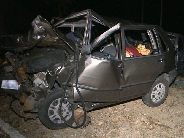 Polícia investiga ultrapassagem indevida em acidente com sete mortos na BR-230, no Sertão da Paraíba (Foto: Reprodução/ TV Paraíba)