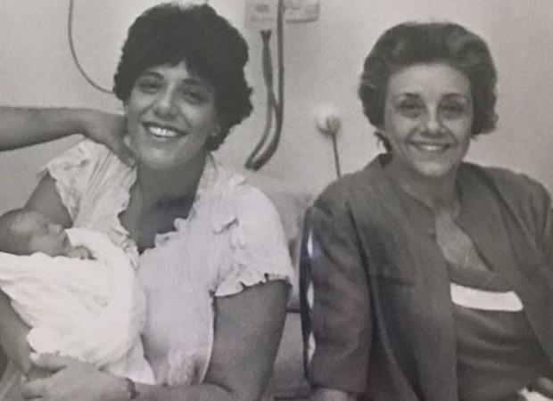 Leda Nagle relembra nascimento do filho Duda (Foto: Reprodução/Instagram)