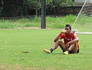 Hernane sonha com artilharia e avisa: 'Posso ser o camisa 9 do Flamengo'