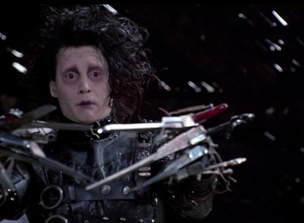 Edward mãos de tesoura (1990) (Foto: Reprodução)
