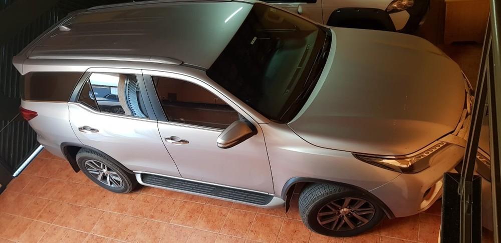 Veículo apreendido também em cumprimento a mandado em MG — Foto: PF/Divulgação