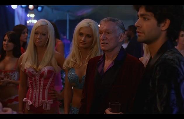 A série 'Entourage: fama e amizade' foi outra que contou com a participação de Hefner, em 2005 (Foto: Reprodução)
