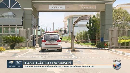 Homem mata a ex-mulher e comete suicídio em Sumaré; casal deixa 2 filhos