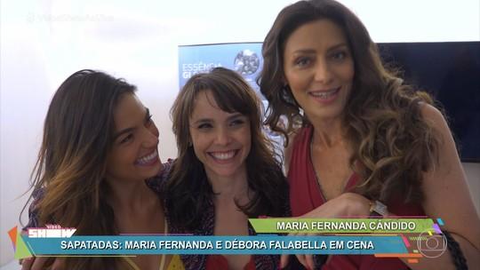 Maria Fernanda Cândido comenta cena de barraco em 'A Força do Querer': 'Vamos ver o que vai ser depois dessa briga'
