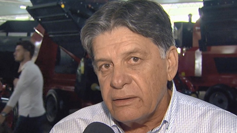 Carlos Augusto Rodrigues de Melo, presidente da Cooxupé (Foto: Reprodução/EPTV)