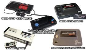 72c9041733f27 Algo que não faltou na longa vida do Master System foram diferentes modelos  (Foto  wikipedia.org   Reprodução  Rafael Monteiro)