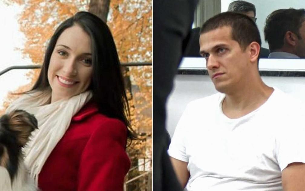 A advogada Tatiane Spitzner e Luis Felipe Manvailer — Foto: Reprodução: Facebook e RPC
