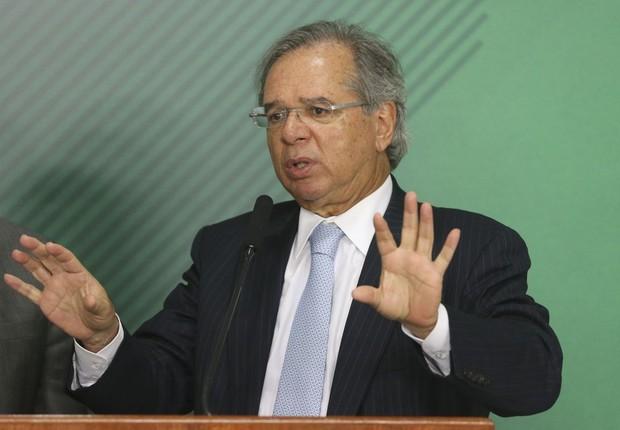 Paulo Guedes, ministro da Economia (Foto: Valter Campanato/Agência Brasil)