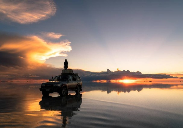 Salar de Uyuni, na Bolívia (Foto: Ariel Contreras)