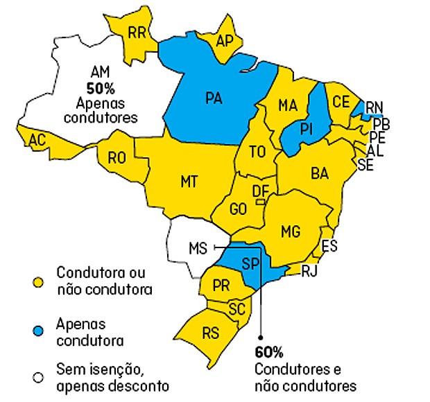 Como funciona a isenção de impostos para PCD em cada estado (Foto: Autoesporte)