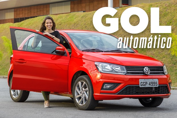 Vídeo: Volkswagen Gol automático (Foto: Autoesporte)
