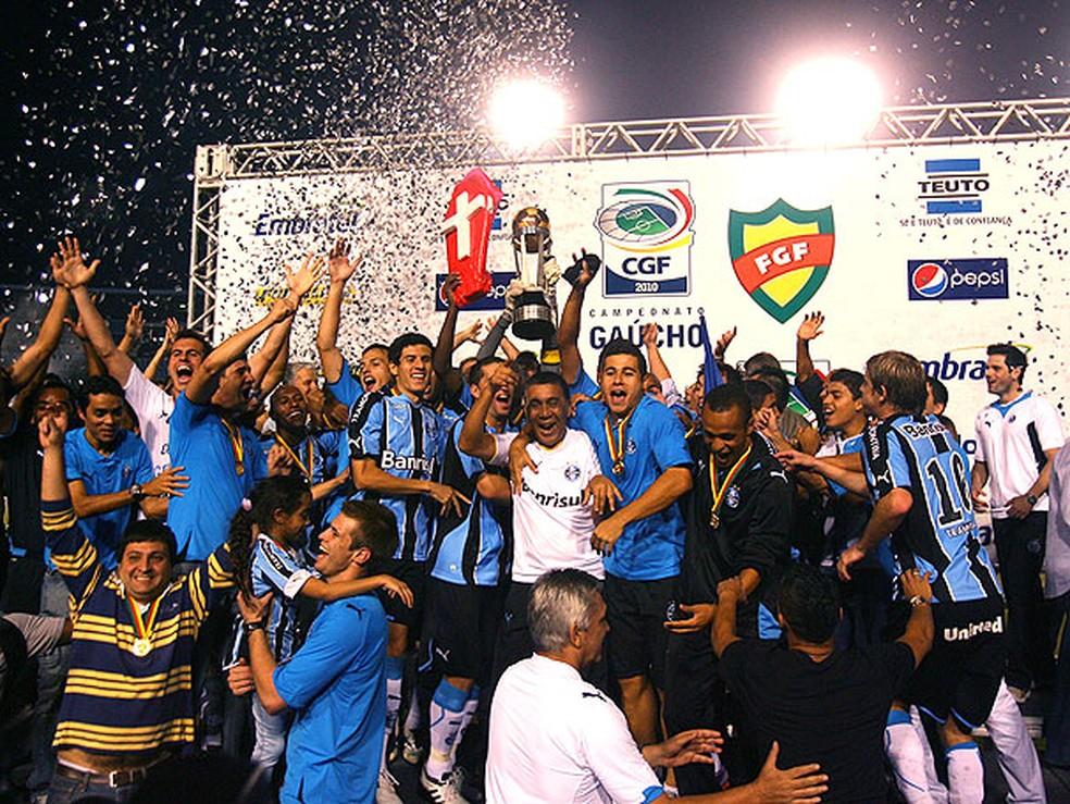 Grêmio não conquista o Gauchão desde 2010 (Foto: Divulgação)