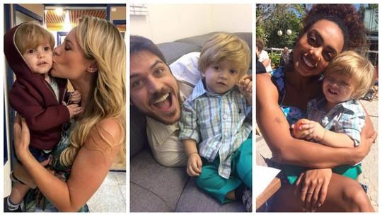 Ruyzinho, filho de Ritinha em 'A Força do Querer', tem quatro anos e perfil com mais de 230 mil seguidores