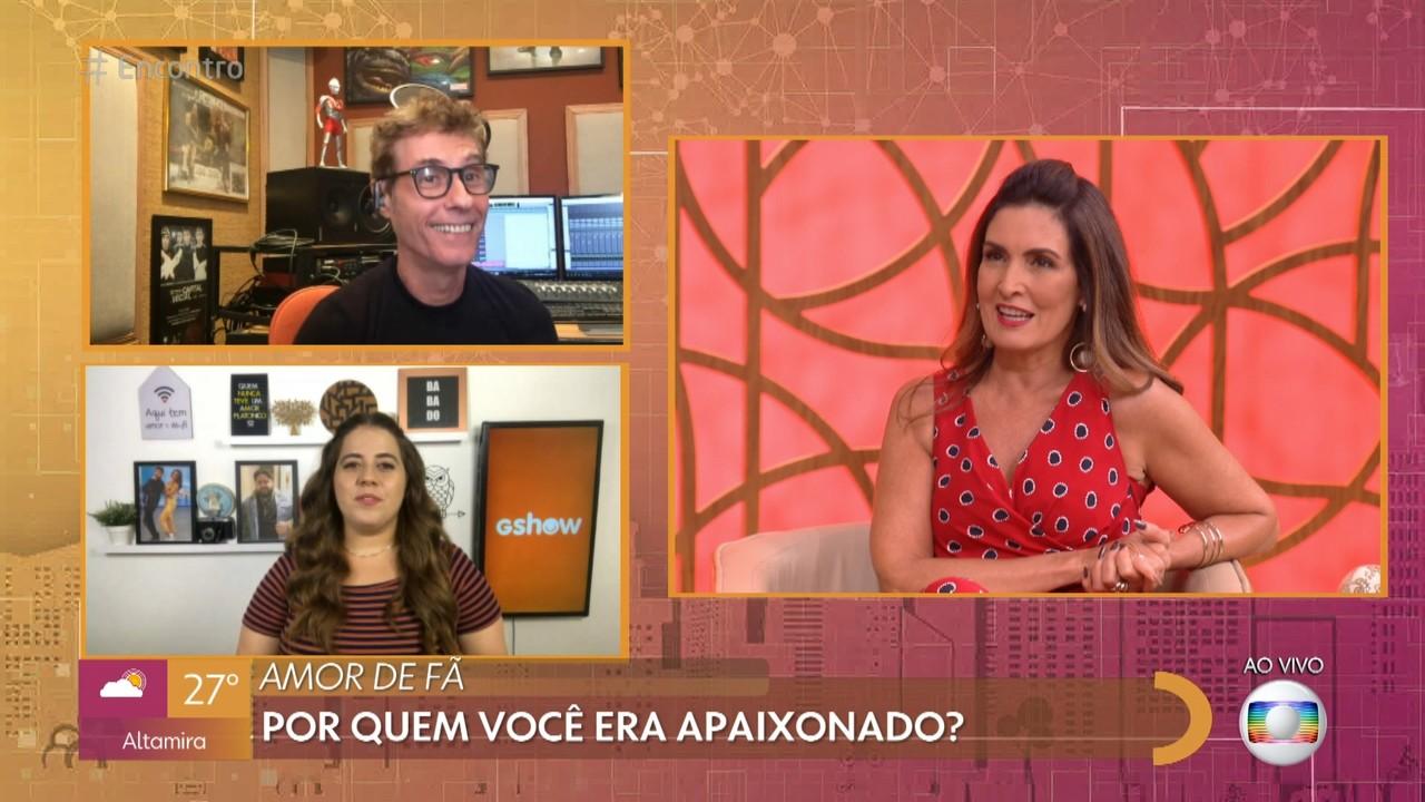 Fátima Bernardes e Dinho Ouro Preto entregam seus crushes famosos