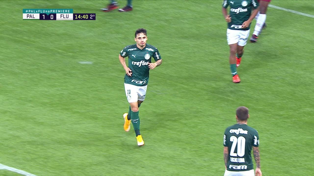 Gol 11: Palmeiras x Fluminense