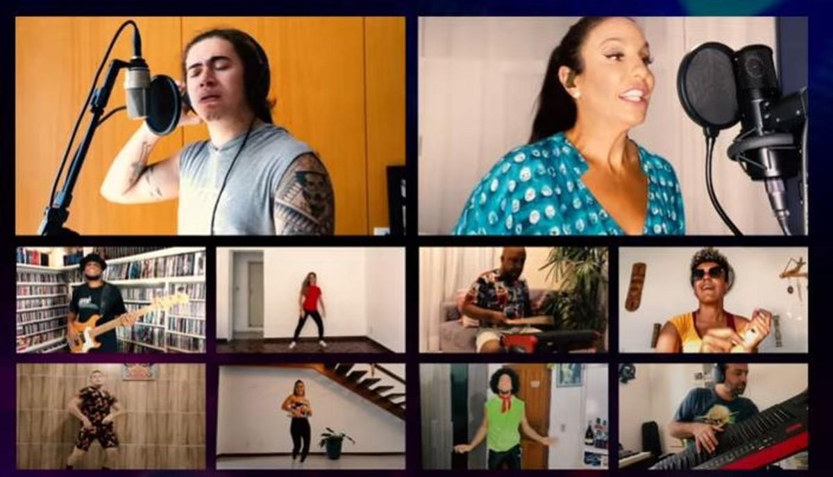 Ivete Sangalo lança clipe de 'Coisa Linda' gravado em casa e com participação de Whindersson Nunes: 'Cada um no seu cantinho'   Música