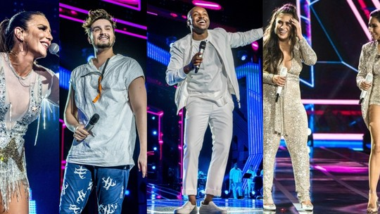 Artistas do 'Show da Virada' fazem balanço do ano e contam o que desejam para 2019