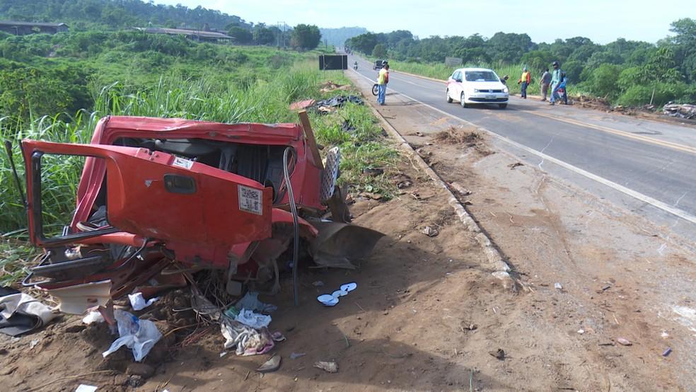 Motoristas reclamam de constantes acidentes (Foto: Rede Amazônica/Reprodução)