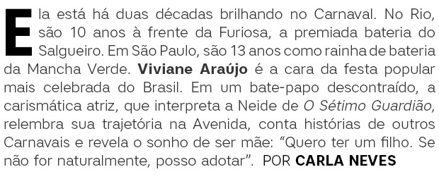 Viviane Araújo Abre (Foto:  )