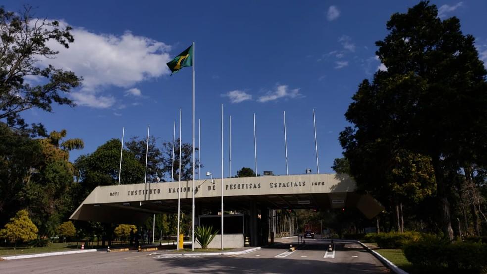 Sede do Inpe fica em São José dos Campos — Foto: Wilson Araújo/TV Vanguarda