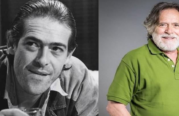 Também no ar em 'A dona do pedaço', José de Abreu interpretou Chico, amigo que ajudou Ariclenes a criar o personagem Victor Valentim (Foto: TV Globo)