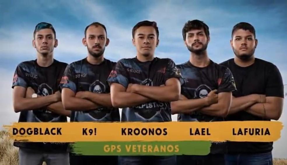 Line up da GPS Veteranos, atual Vivo Keyd — Foto: Reprodução/Garena
