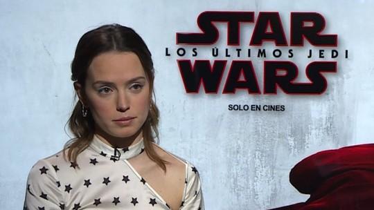 'Rey' fala sobre se ver na tela pela 1ª vez e de assédios em Hollywood