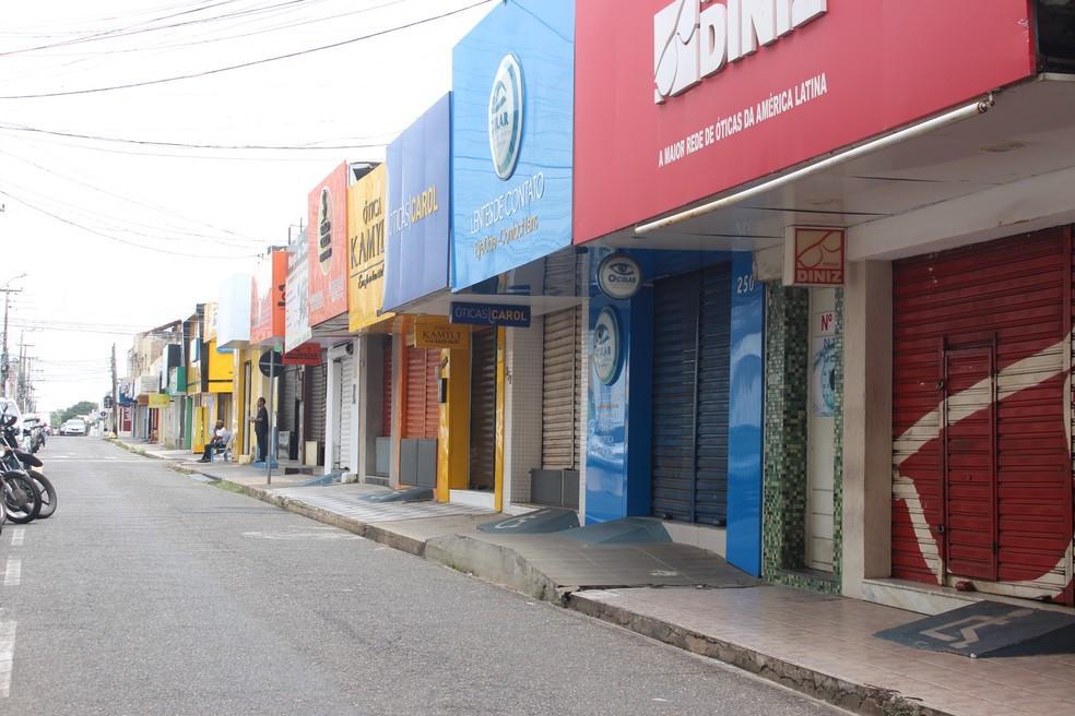 Centro de Teresina, capital do Piauí — Foto: Andrê Nascimento/ G1 PI