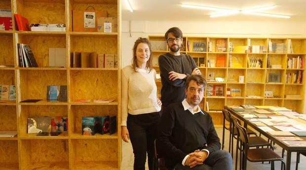 Parceria. Cecilia Arbolave, João Varella e Gustavo Piqueira na nova Sala Tatuí (Foto: Reprodução/Estadão Conteúdo)