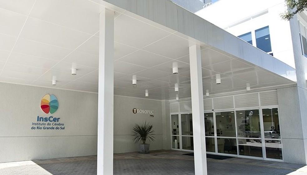 Instituto do Cérebro do Rio Grande do Sul fica em Porto Alegre — Foto: Divulgação/InsCer