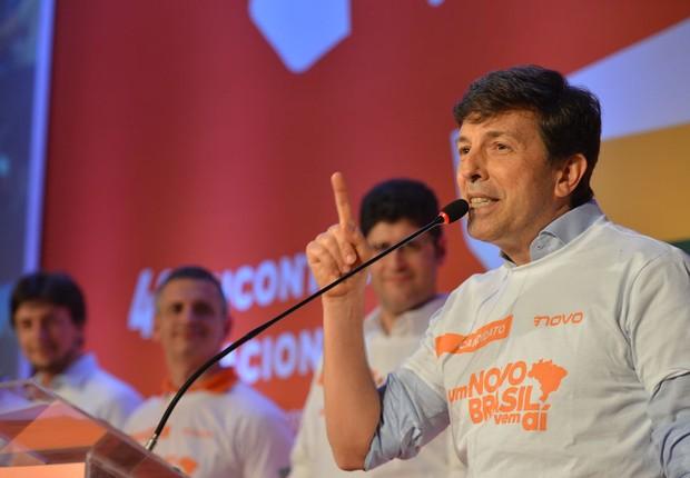 João Amoêdo, candidato à presidência pelo Partido Novo (Foto: Rovena Rosa/Agência Brasil)
