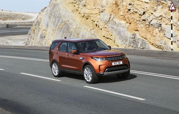 Range Rover Discovery (Foto: Divulgação)